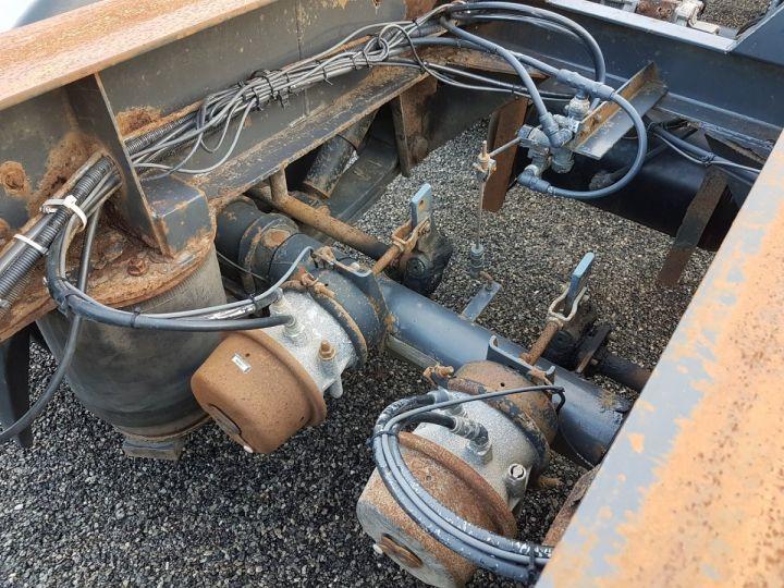 Remolque Samro Transporte de contenedores Remorque 2 essieux PORTE-CAISSE MOBILE NOIR - 10