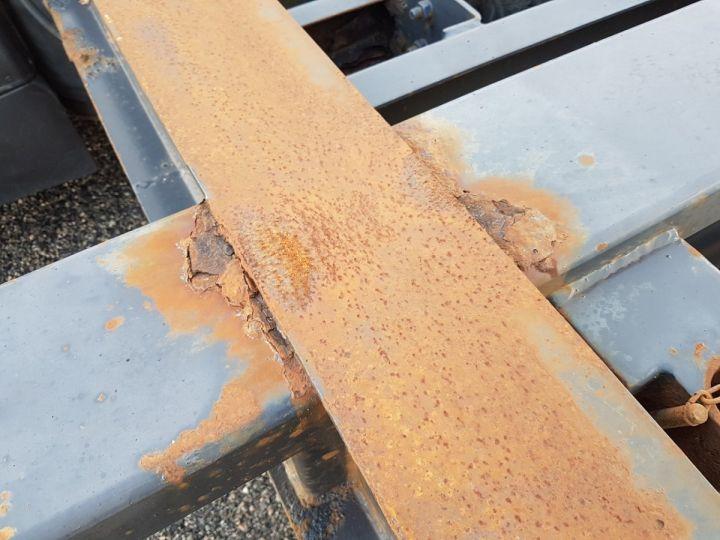 Remolque Samro Transporte de contenedores Remorque 2 essieux PORTE-CAISSE MOBILE NOIR - 15