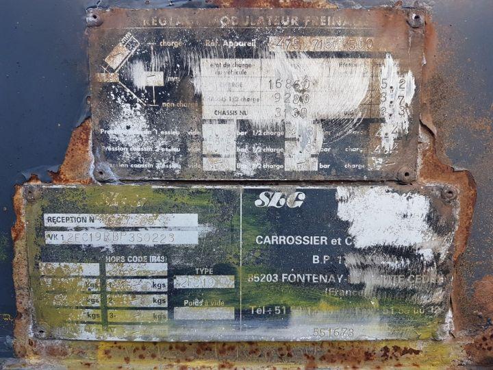 Remolque Samro Transporte de contenedores Remorque 2 essieux PORTE-CAISSE MOBILE NOIR - 18