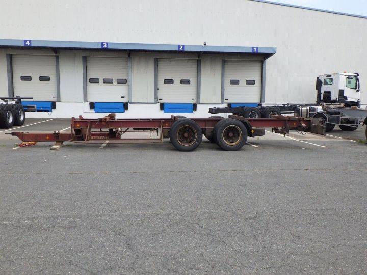 Remolque Trouillet Transporte de contenedores  - 2
