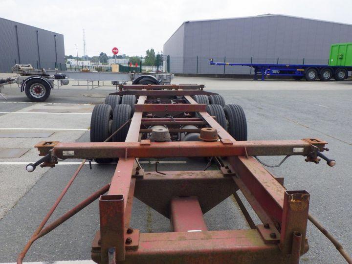 Remolque Trouillet Transporte de contenedores  - 4