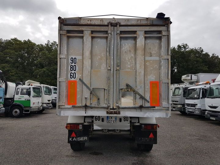 Remolque Kaiser Volquete granelera Benne Cérélaière 3 essieux 44m3 GRIS - 5