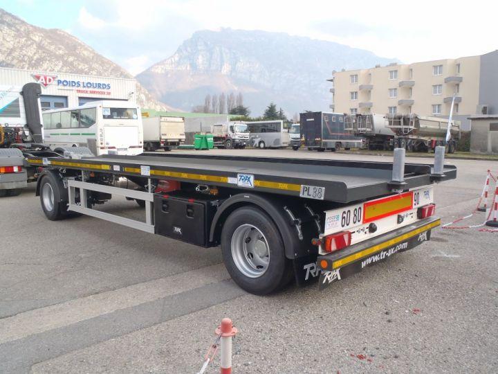 Remorque Trax Ampliroll Polybenne Porte-caisson 2 essieux  - 3