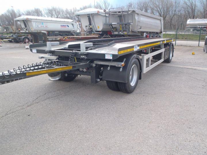 Remorque Trax Ampliroll Polybenne Porte-caisson 2 essieux  - 1