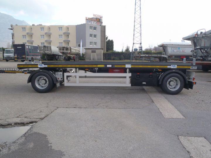 Remorque Trax Ampliroll Polybenne Porte-caisson 2 essieux  - 2