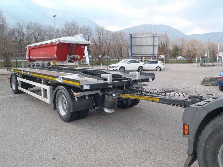 Remorque Trax Ampliroll Polybenne Porte-caisson 2 essieux  - 6