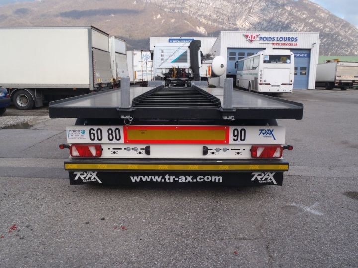 Remorque Trax Ampliroll Polybenne Porte-caisson 2 essieux  - 4