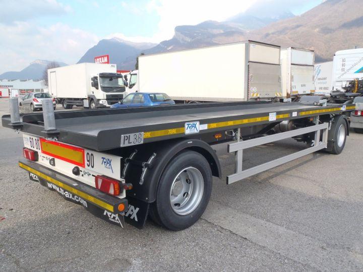 Remorque Trax Ampliroll Polybenne Porte-caisson 2 essieux  - 5