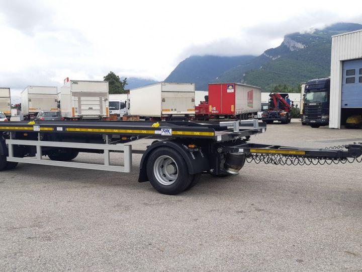 Remorque Trax Ampliroll Polybenne porte-caisson NEUVE et DISPO Gris foncé - 1