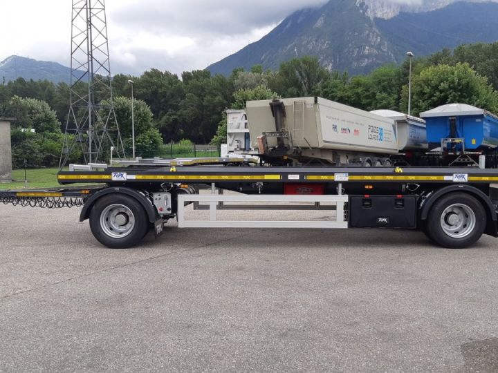 Remorque Trax Ampliroll Polybenne porte-caisson NEUVE et DISPO Gris foncé - 2