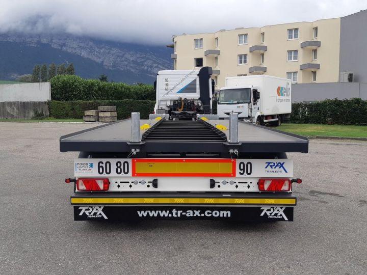 Remorque Trax Ampliroll Polybenne porte-caisson NEUVE et DISPO Gris foncé - 4