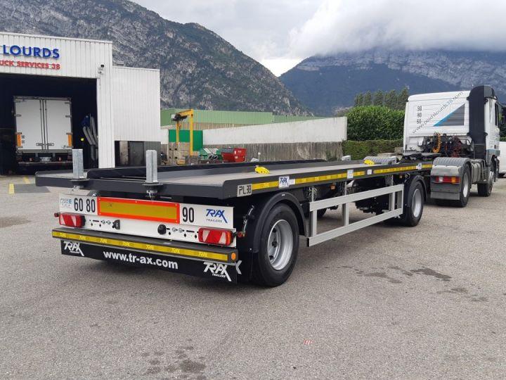 Remorque Trax Ampliroll Polybenne porte-caisson NEUVE et DISPO Gris foncé - 5