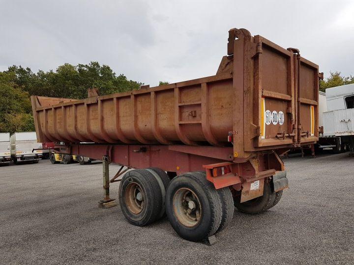 Remorque Benne arrière BENNE TP vérin à remplacer ROUGE ROUILLE Occasion - 4