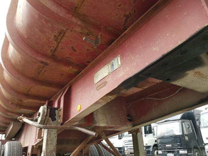 Remorque Benne arrière BENNE TP vérin à remplacer ROUGE ROUILLE Occasion - 8
