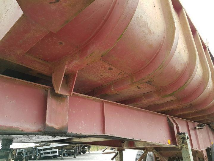Remorque Benne arrière BENNE TP vérin à remplacer ROUGE ROUILLE Occasion - 9