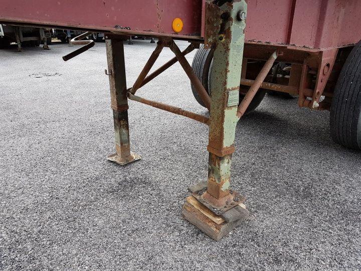 Remorque Benne arrière BENNE TP vérin à remplacer ROUGE ROUILLE Occasion - 10