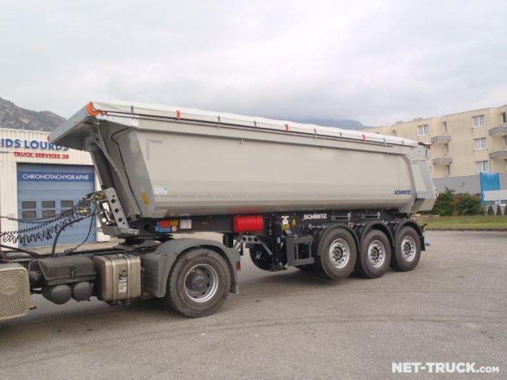 Remorque Schmitz Benne arrière RAL 7038 GRIS - 1