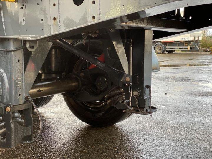 Remorque Wielton Benne arrière ALU DEMI RONDE STRONG MASTER 3 ESSIEUX GRIS - 17