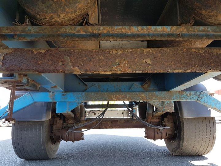 Remorque Asca S219CA Caisse Fourgon BI-TRAIN FOURGON CARGO-ROUTE BLANC - BLEU Occasion - 15