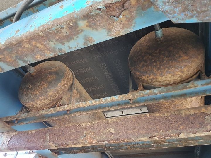 Remorque Asca S219CA Caisse Fourgon BI-TRAIN FOURGON CARGO-ROUTE BLANC - BLEU Occasion - 16