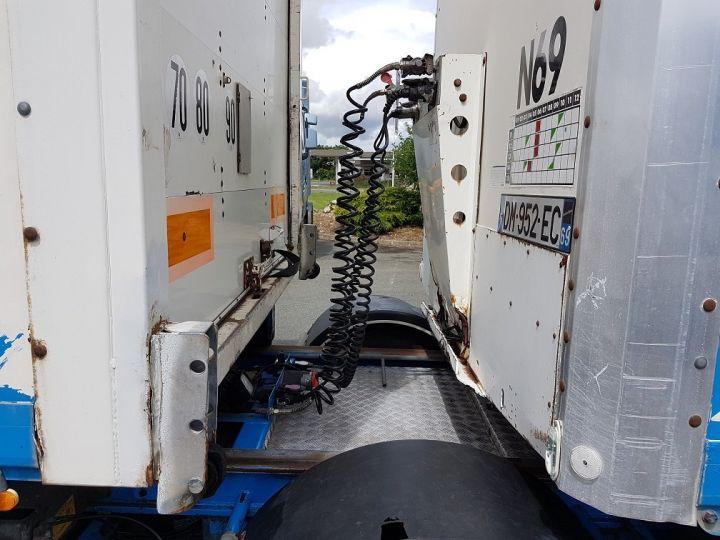 Remorque Asca S219CA Caisse Fourgon BI-TRAIN FOURGON CARGO-ROUTE BLANC - BLEU Occasion - 17