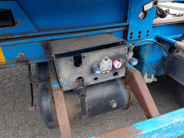Remorque Asca S219CA Caisse Fourgon BI-TRAIN FOURGON CARGO-ROUTE BLANC - BLEU Occasion - 18