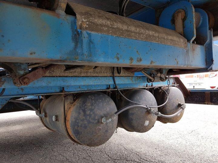 Remorque Asca S219CA Caisse Fourgon BI-TRAIN FOURGON CARGO-ROUTE BLANC - BLEU Occasion - 19