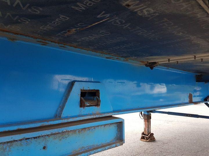 Remorque Asca S219CA Caisse Fourgon BI-TRAIN FOURGON CARGO-ROUTE BLANC - BLEU Occasion - 20