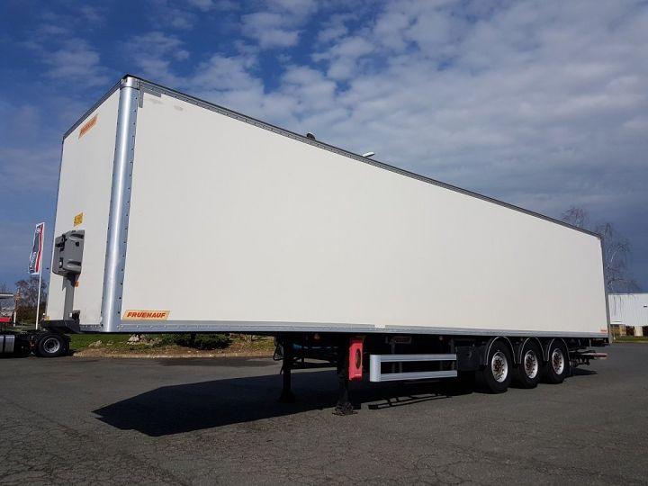 Remorque Caisse fourgon + Hayon élévateur Fourgon + hayon 2500 kg BLANC Occasion - 1
