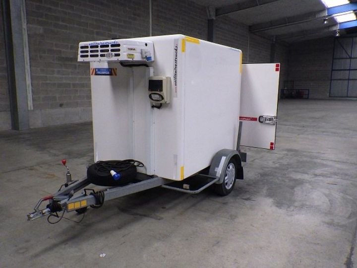 Remorque Caisse frigorifique Blanc - 1