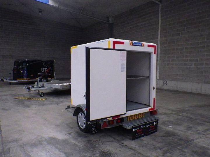 Remorque Caisse frigorifique Blanc - 2