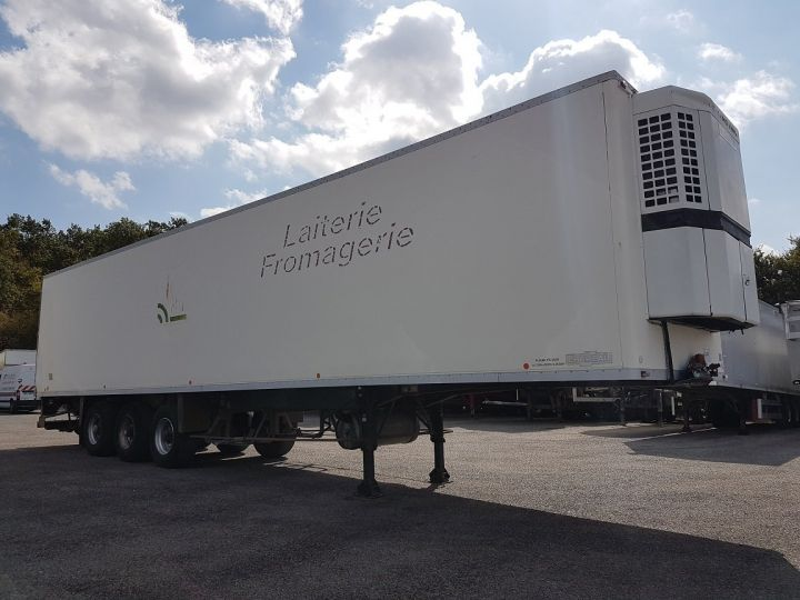 Remorque Caisse frigorifique Frigorifique CHEREAU - Groupe TK en panne BLANC Occasion - 3
