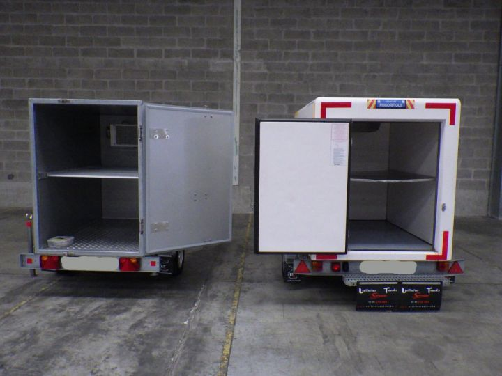 Remorque Lamberet Caisse frigorifique Blanc - 4