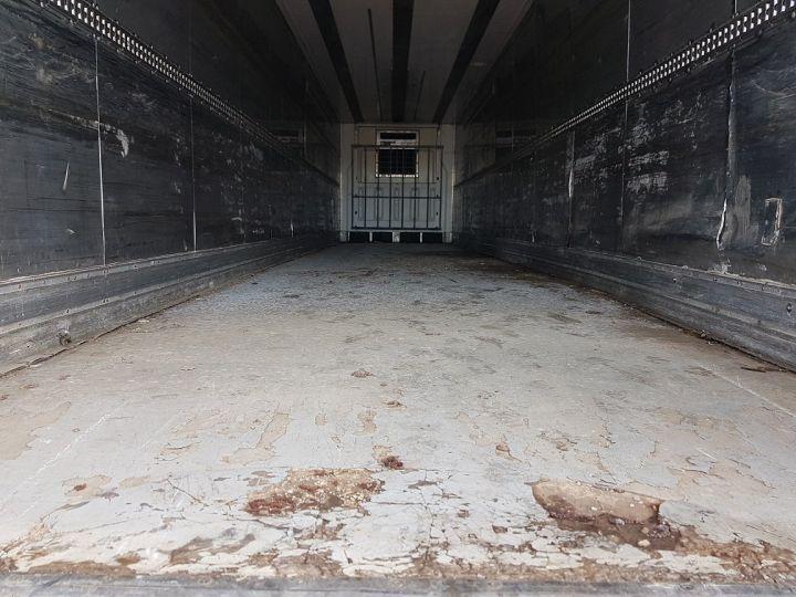 Remorque Lamberet Caisse frigorifique Frigorifique CARRIER MAXIMA 2 BLANC - VERT - 8