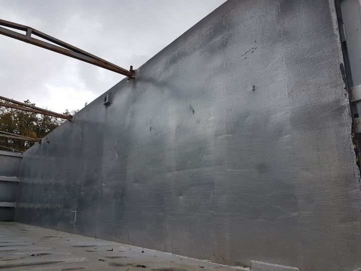 Remorque Benne céréalière BENNE ALUMINIUM SOCARI 42m2 GRIS Occasion - 8