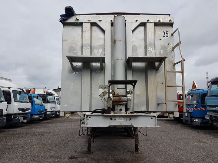 Remorque Benne céréalière Benne Cérélaière 3 essieux 44m3 GRIS Occasion - 10