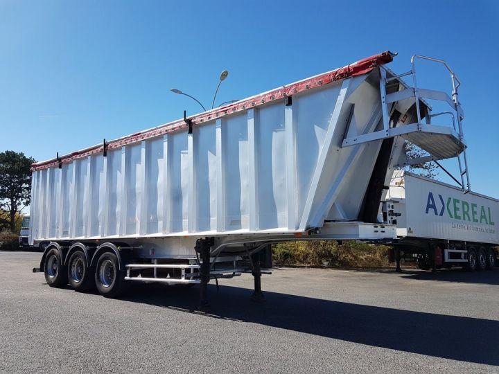 Remorque Benne céréalière ETANCHE 45m3 GRIS Occasion - 3