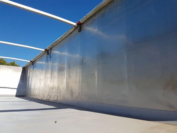 Remorque Benne céréalière ETANCHE 45m3 GRIS Occasion - 11