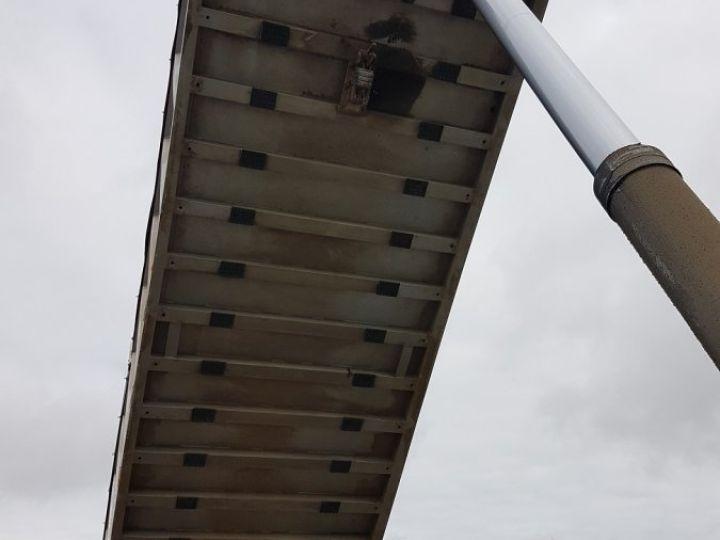 Remorque Kaiser Benne céréalière Benne Cérélaière 3 essieux 44m3 GRIS - 13