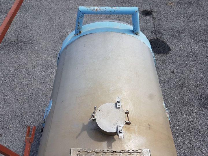 Remorque Citerne Chimique CITERNE A GOUDRON GRIS - BLEU - ROUGE Occasion - 10