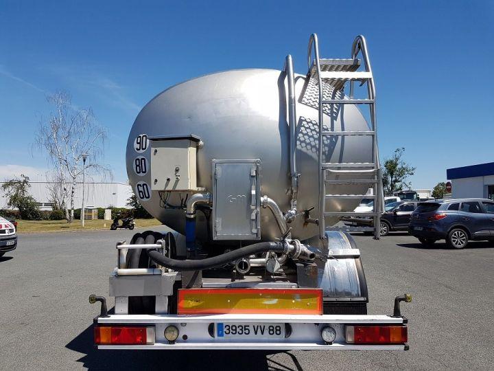 Remorque Citerne alimentaire Citerne inox 21000 litres 3 cpts GRIS Occasion - 6