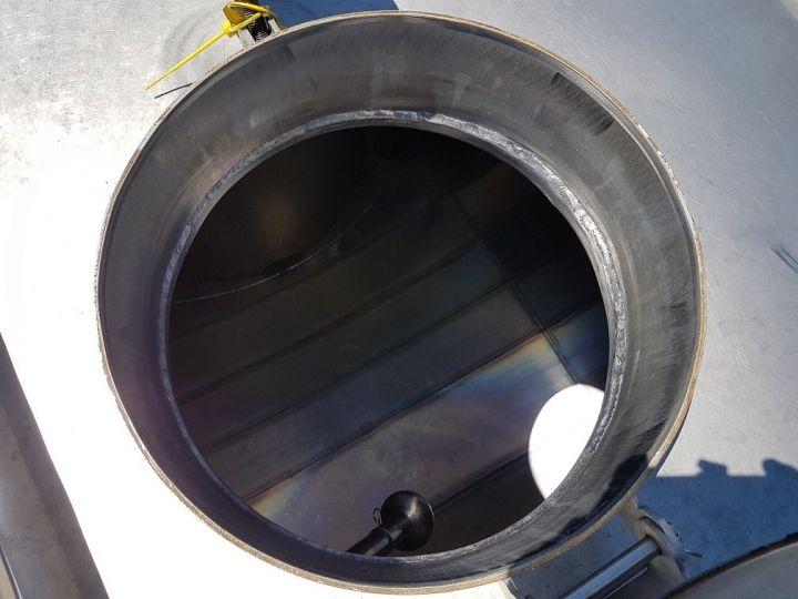 Remorque Citerne alimentaire Citerne inox 21000 litres 3 cpts GRIS Occasion - 8