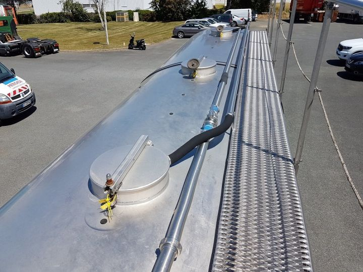 Remorque ETA Citerne alimentaire Citerne inox 21000 litres 3 cpts GRIS - 7