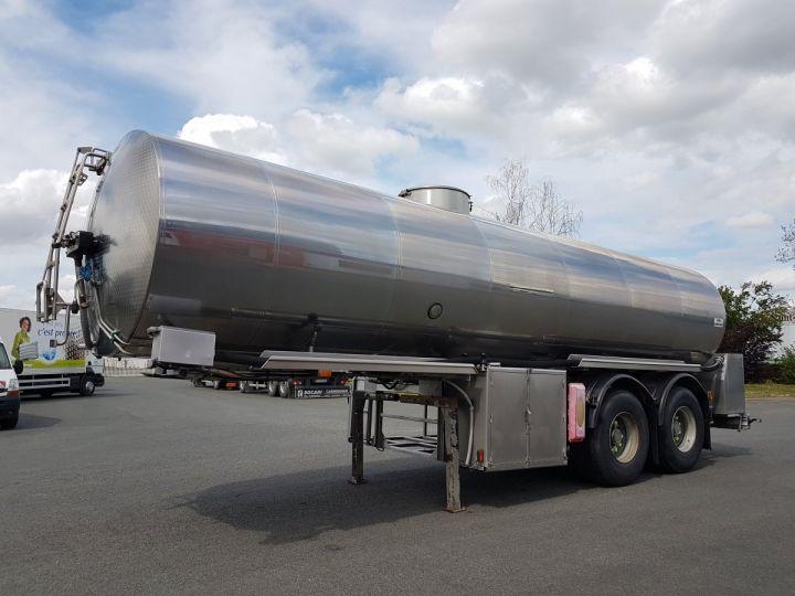 Remorque Magyar Citerne alimentaire Citerne inox calorifugée 25500 litres GRIS - 1