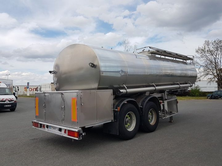 Remorque Magyar Citerne alimentaire Citerne inox calorifugée 25500 litres GRIS - 2