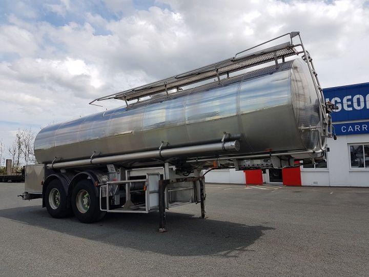Remorque Magyar Citerne alimentaire Citerne inox calorifugée 25500 litres GRIS - 3