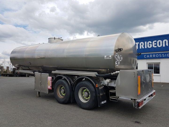 Remorque Magyar Citerne alimentaire Citerne inox calorifugée 25500 litres GRIS - 4
