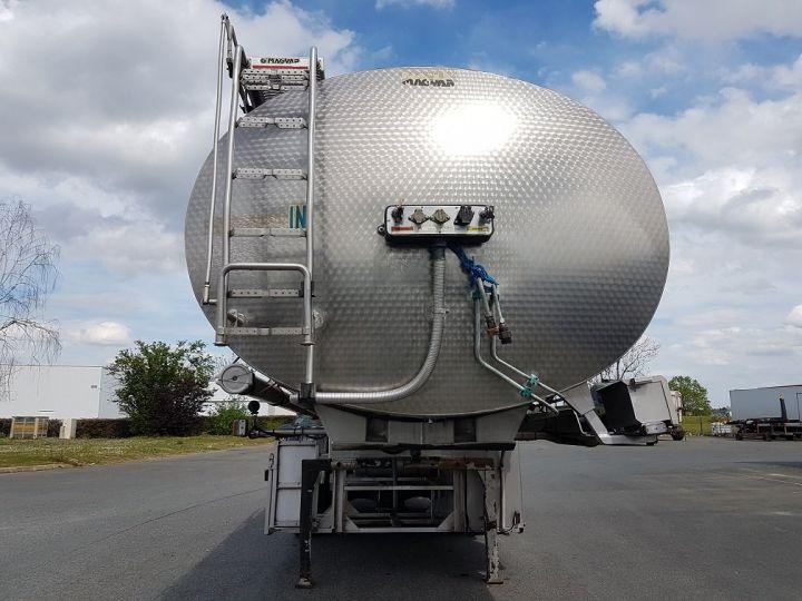 Remorque Magyar Citerne alimentaire Citerne inox calorifugée 25500 litres GRIS - 5