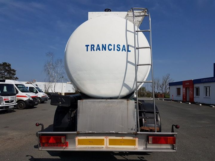 Remorque Citerne hydrocarbures Citerne acier 28000 litres BLANC - GRIS Occasion - 5
