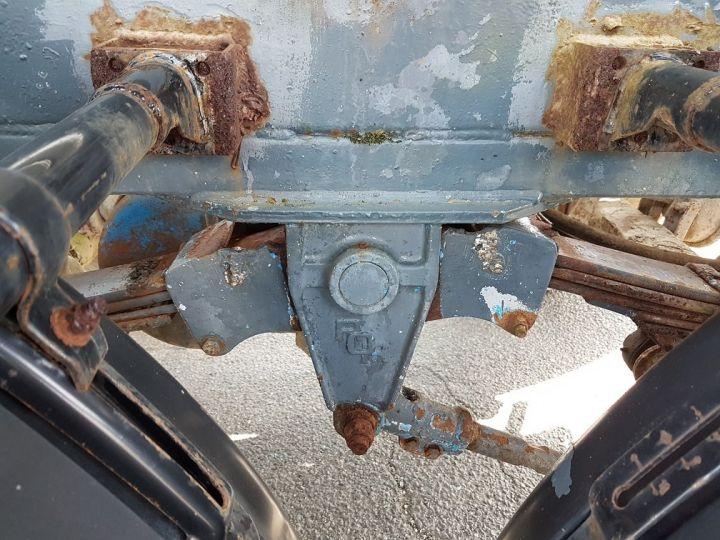 Remorque Citerne hydrocarbures Citerne acier 28000 litres BLANC - GRIS Occasion - 17